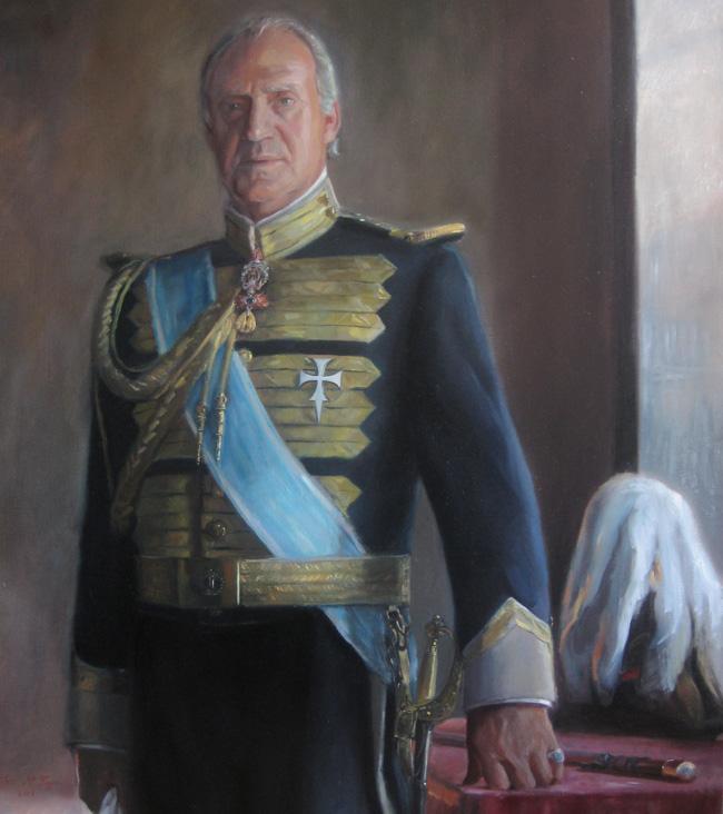 Retrato S.M. el Rey Don Juan Carlos I