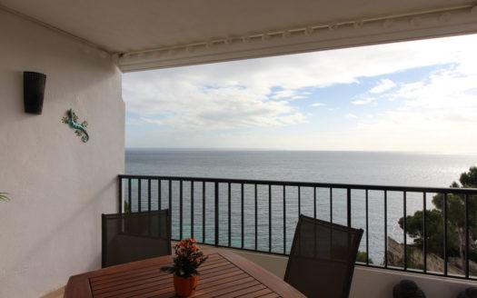 Palmanova Mallorca primera línea mar piso en alquiler