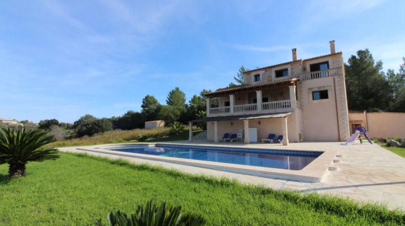 Finca rústica con vista bonita Llubi, Mallorca