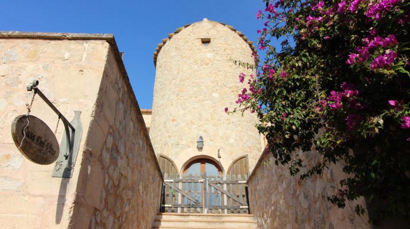 Finca rústica con piscina y vista en Sant Joan, Mallorca