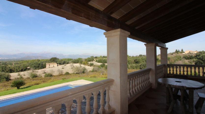 Finca mit schöner Aussicht in Llubi, Mallorca
