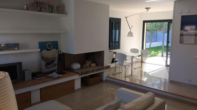 Villa con jardín, piscina y vista mar Colonia San Pere, norte de Mallorca