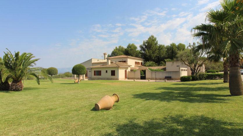 Casa con vista a la bahía de Palma