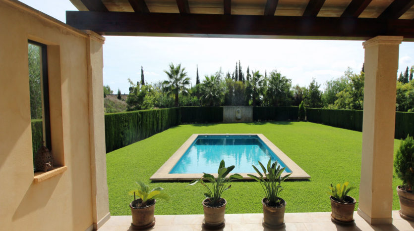 luxury finca for rent in Binissalem Majorca
