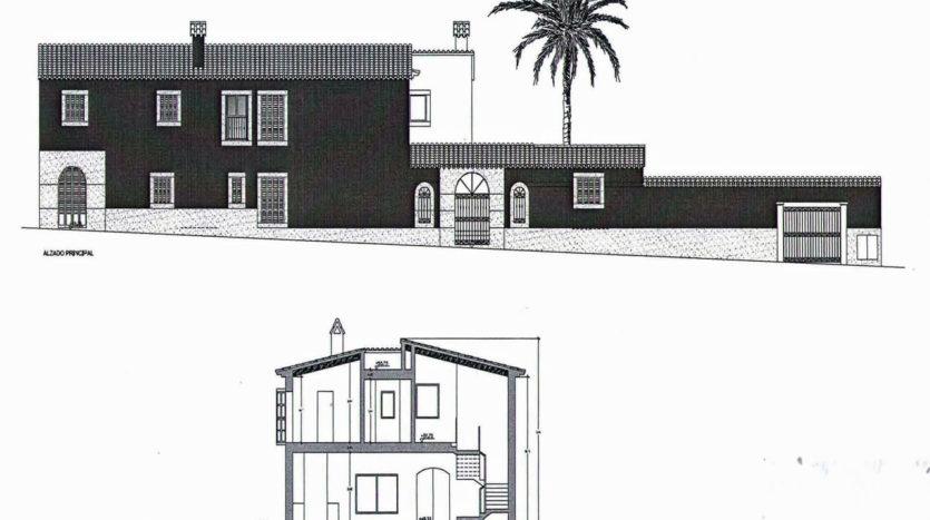Dorfhaus zum Reformieren mit großen Grundstück in Alaro, Mallorca