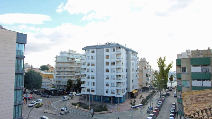Piso en Palma centro con vista al puerto