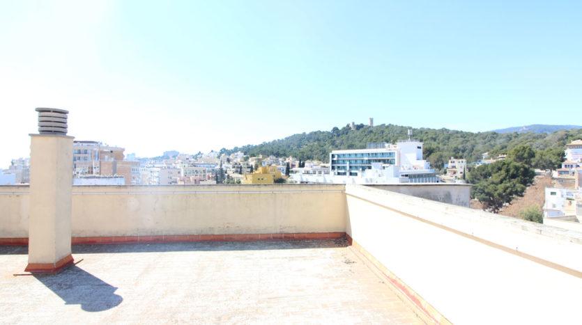 Atico en Palma Son Armadams con vista puerto