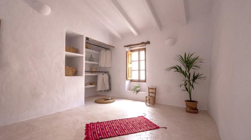 Vista casa de pueblo Sencelles Mallorca