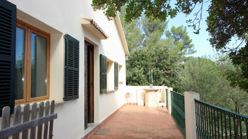 House in Puigpunyent Majorca with panoramic views