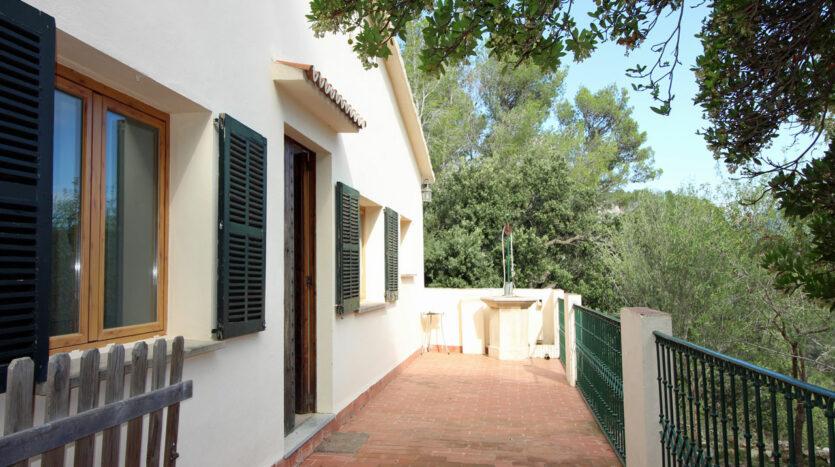 Haus in Puigpunyent Mallorca mit Panoramablick