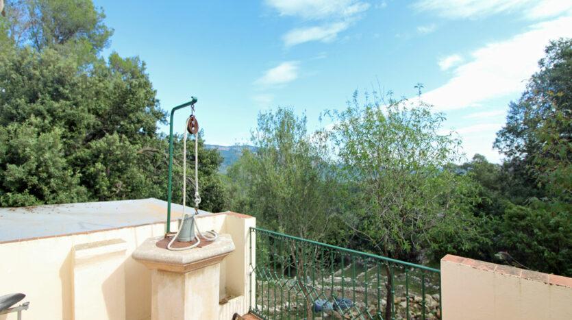 Casa Puigpunyent con vista panorámica