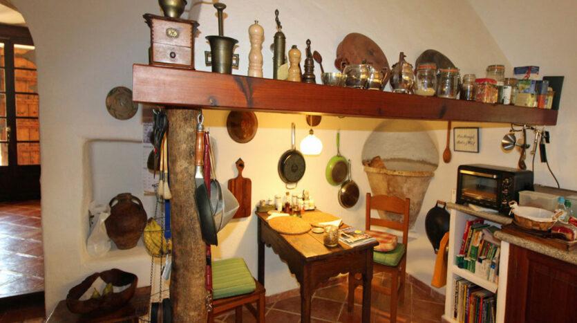 Algaida Son Amagat kitchen