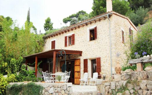 Finca in Bunyola Majorca with nice views