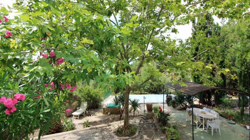 Haus in Galilea Mallorca mit Pool und Aussicht
