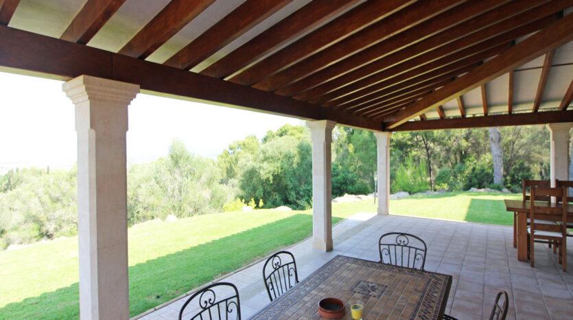 S'Aranjassa, Palma, bonita casa con vista a la bahía de Palma y jardín for sale